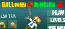 Balloons vs Zombies 3